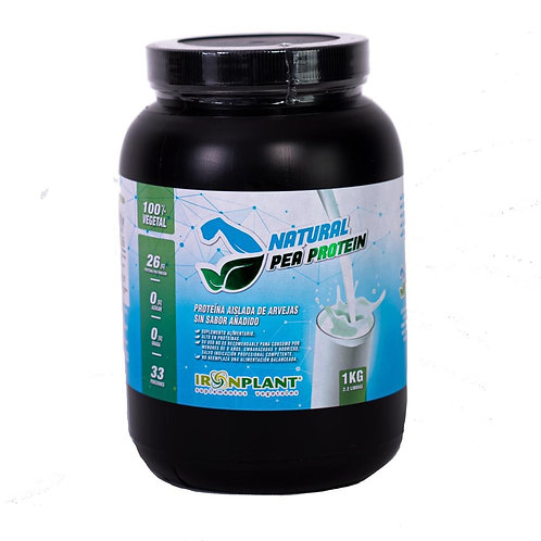 Proteína Aislada de Arveja Natural 1 kg (sin sabor)