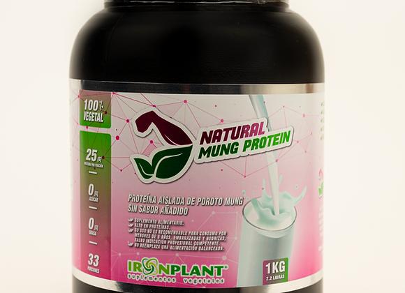 Proteína de Poroto Mung Natural (sin sabor) 3 Kilos