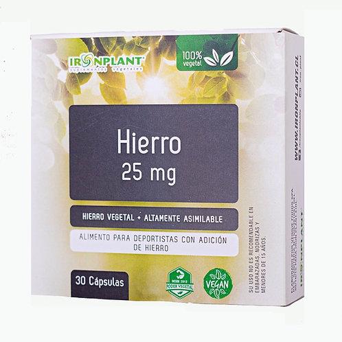 Hierro 25 mg
