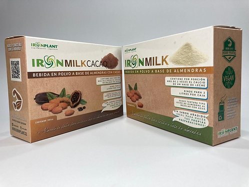 Iron Milk pack Cacao-Natural