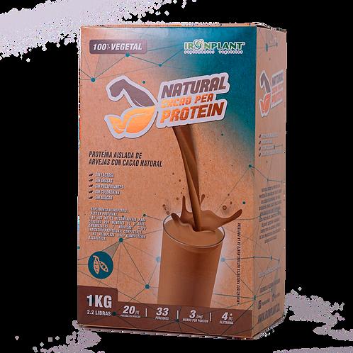 Proteína de Arveja Cacao 2 kilos Caja