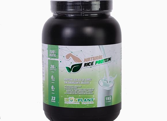 Proteína de Arroz Natural (sin sabor) 1 kilo