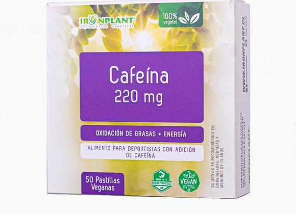 Cafeína en pastillas 50/220 mg