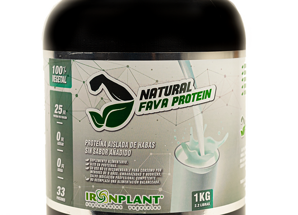 Proteína de Haba natural 3 kg