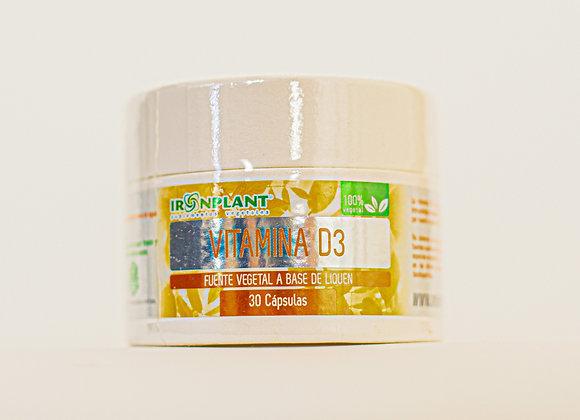 Vitamina D3 400 UI - Frasco ecológico