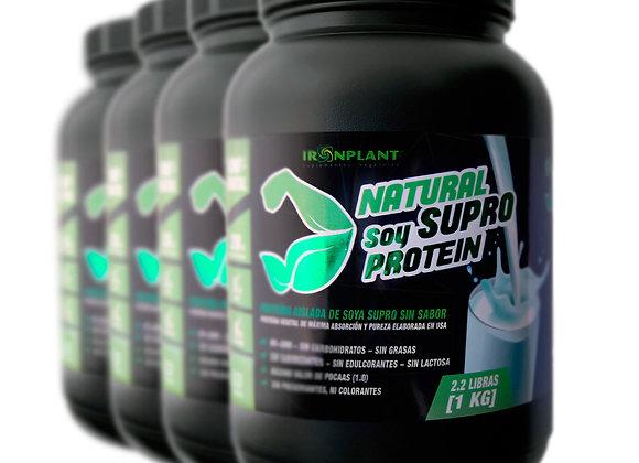 Proteína Supro natural 4 kg (sin sabor)