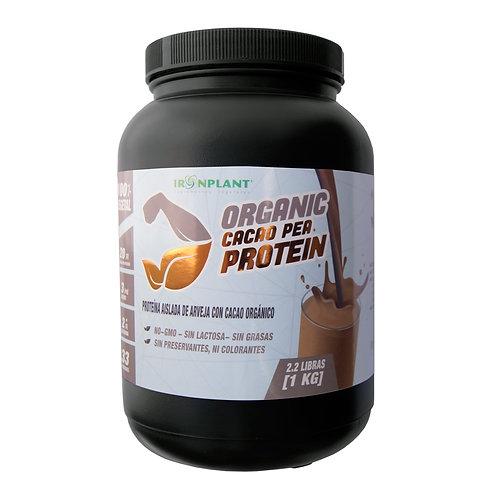 Proteína de Arveja Iron Plant Sabor Cacao