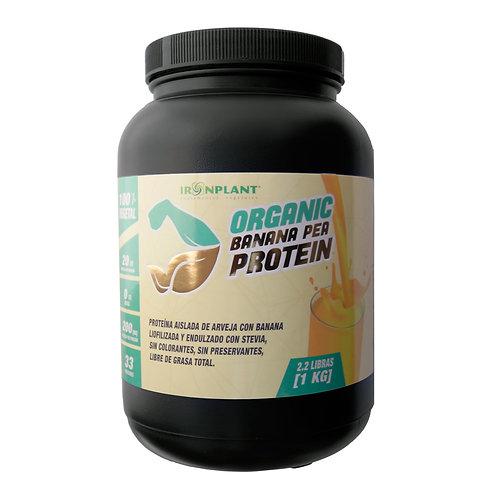 Proteína de Arveja Iron Plant Sabor Banana