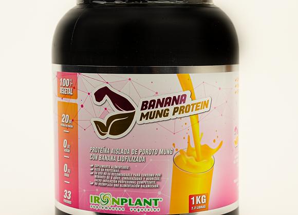Proteína de Poroto Mung con Banana Liofilizada 4