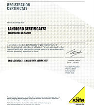 Lanlord certificate cp12