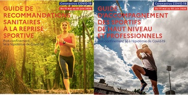 Ministère des sports- Guides pratiques à la reprise et mesures de soutien