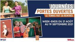 Le Tennis fait sa rentrée - Journées Portes ouvertes