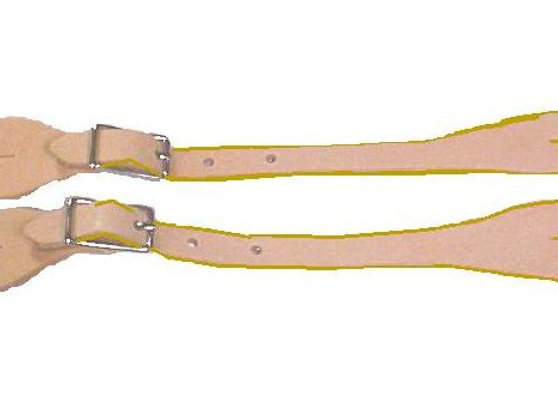 LSS7 LEATHER SPUR STRAP SET