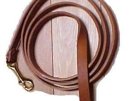 LL2 LEATHER HORSE LEAD W/ SNAP