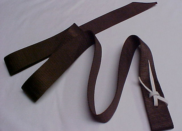0563-540 NY. WEBBED SADDLE TIE