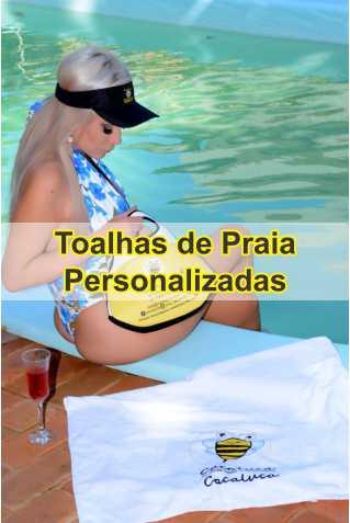 Toalhas de Praia Personalizada