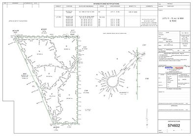 Green Title subdivision plan by Surveying Solutions WA