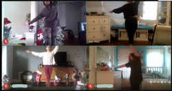 Teaching Ballet Virtually for Bayonne High School
