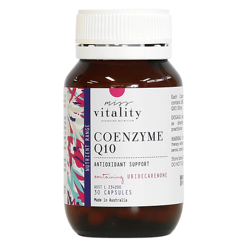 MISS VITALITY CO ENZYME Q10