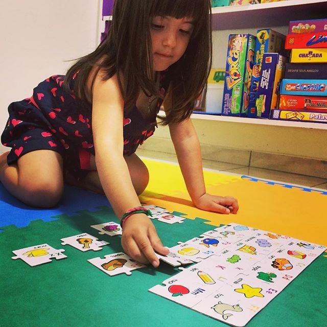 Alfabeto e quebra-cabeça