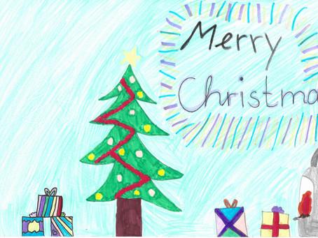 Hier: Weihnachtsgrüße der Elisabethschule