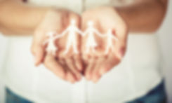 Woman cupped hands showing family.jpg