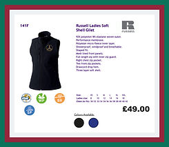 Russell Ladies Soft Shell Gilet.JPG