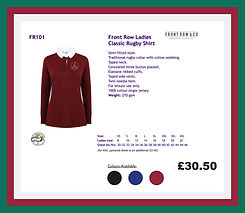 Front Row Ladies Classic Rugby Shirt.JPG