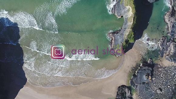 Ballybunion  Beach 4k Video