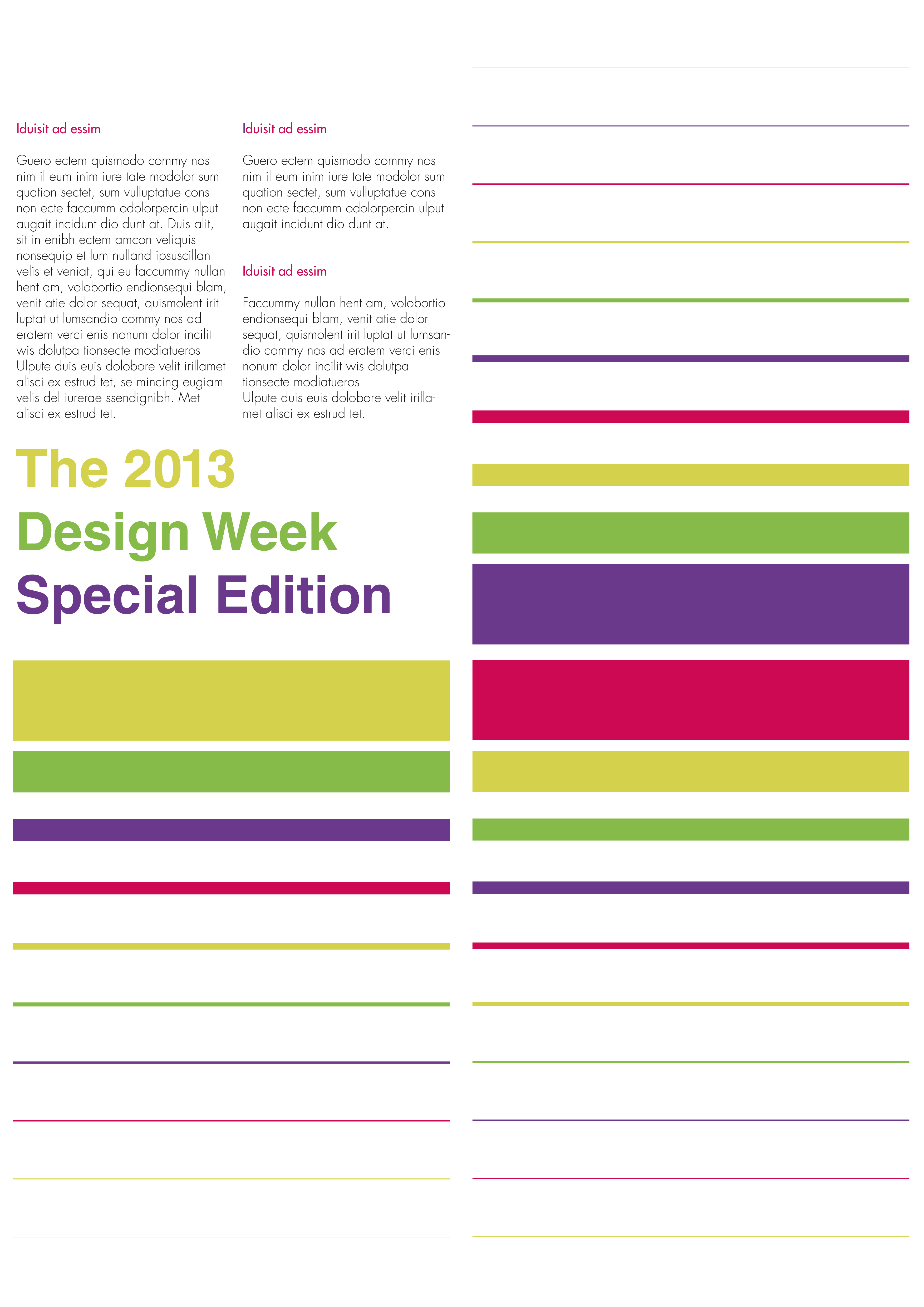 Dresign week special edition 2