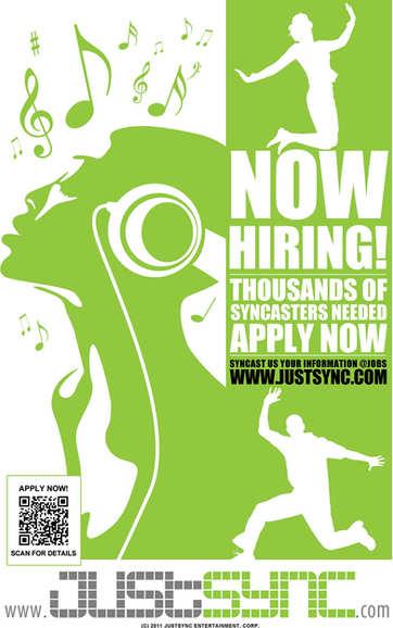 JustSync - Now Hiring