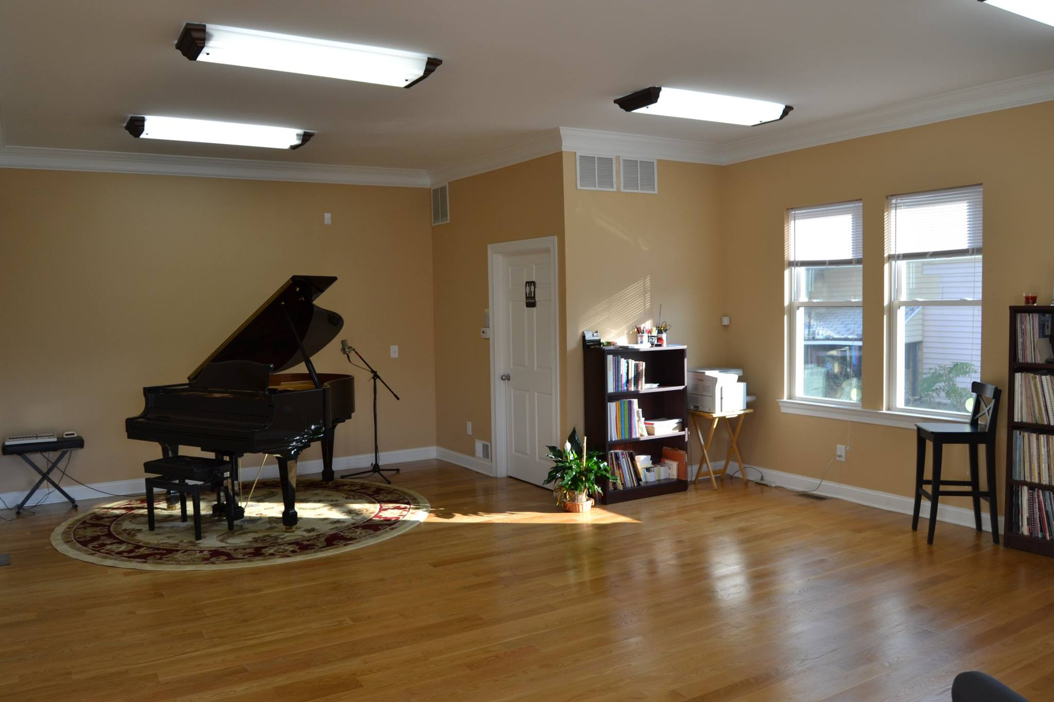 Inside the Piano Studio