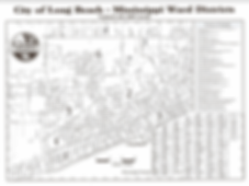 City Of Long Beach Ward Map
