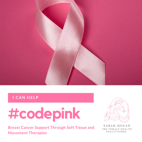 #codepink Breast Cancer Support Through Soft Tissue and Movement Therapies
