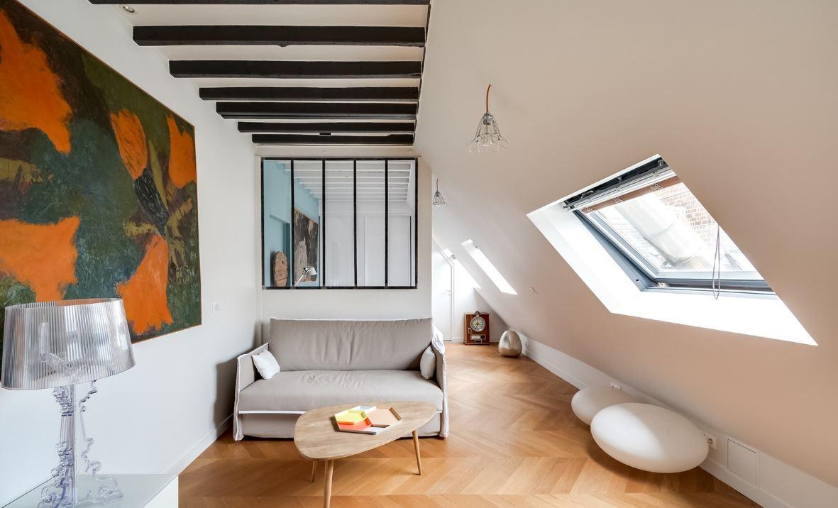 un dernier étage aménagé