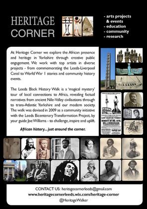 Leeds Black History Walks, 2016