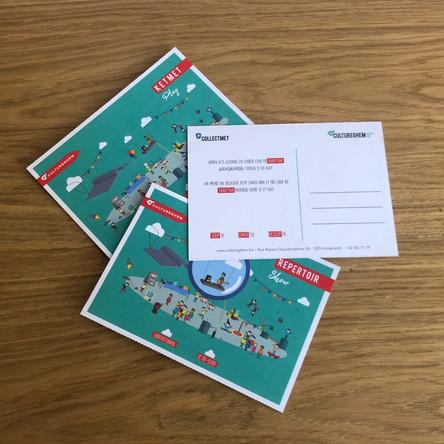 Postkaart Cultureghem
