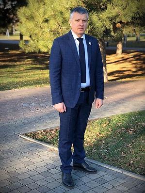 Моргошія Онісе Лотіаєвич, Президент Всеукраїнської асоціації спортсменів Таеквон-До І.Т.Ф., володар чорного поясу V дан
