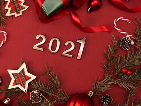 Привітання з Новим 2021 роком та Різдвом Христовим!