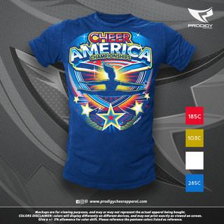 Cheer Americs Gen 20-21 TSHIRT-prodigy P