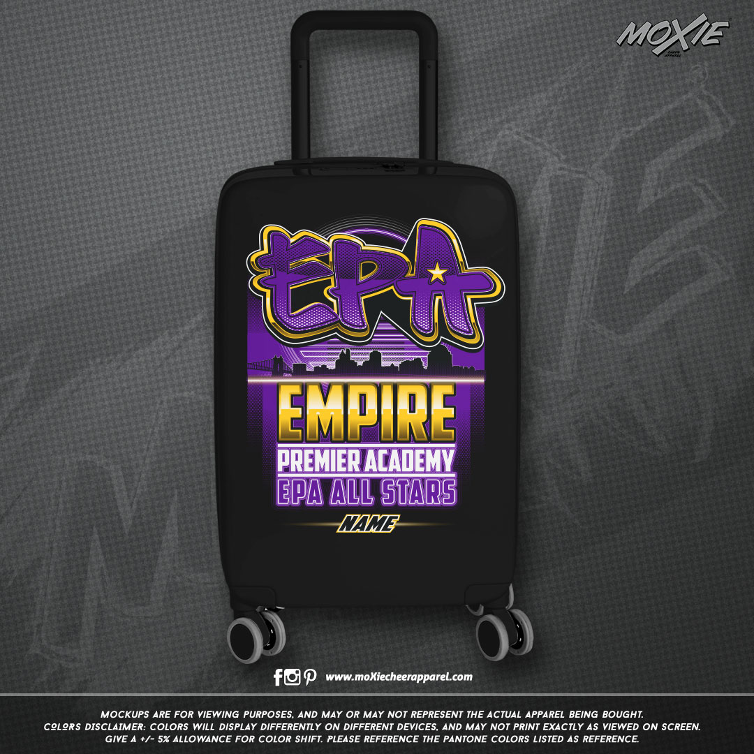 EPA HARD-ROLLER LUGGAGE-moXIe PROOF