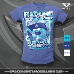 Redline Winter Showdwn 21 TSHIRT-prodigy