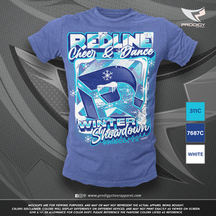 Redline Winter Showdwn 21 TSHIRT-prodigy