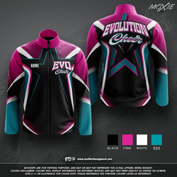 Evolution Cheer  JACKET-moXie PROOF