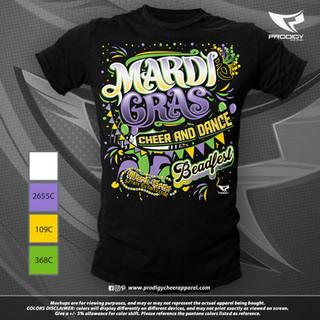 MardiGras Beadfest 21 TSHIRT-prodigy PRO