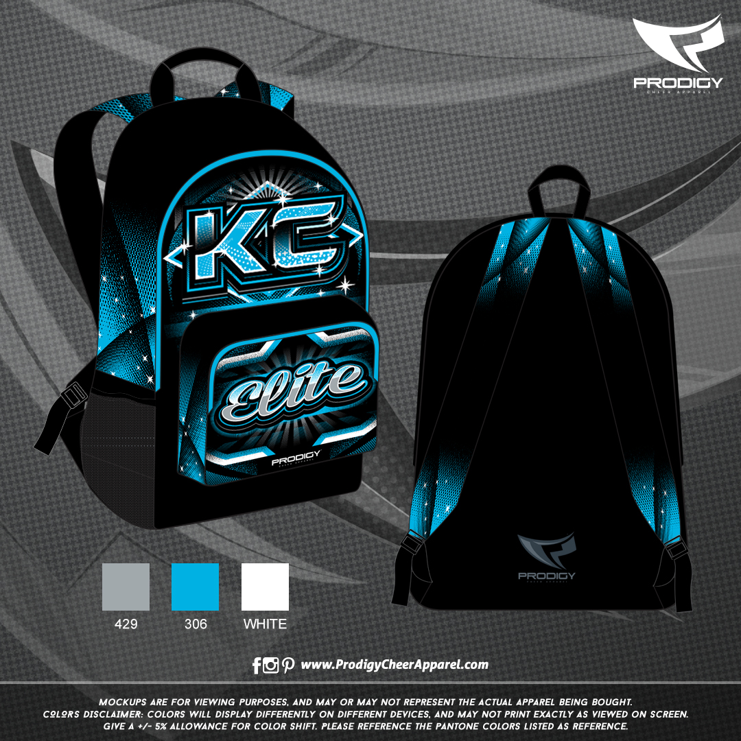 KC Elite Backpack-prodigy PROOF