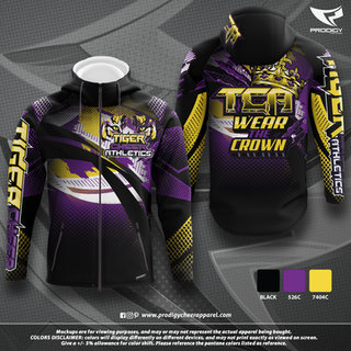 Tiger Cheer HOODED JACKET-prodigy PROOF.