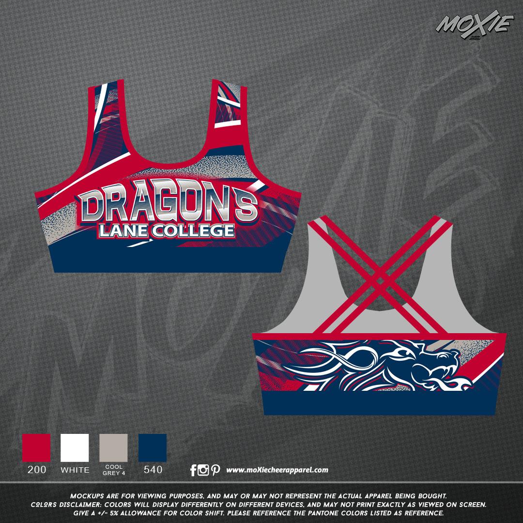 Lane College SPORT BRA-moXie PROOF-set 1
