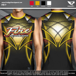 Fire Cheer MENS SLEEVELESS-prodigy PROOF