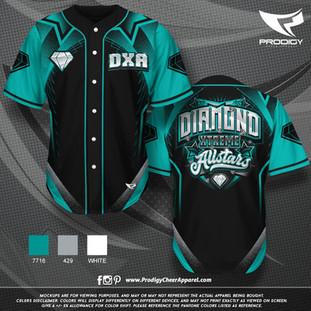 Diamond Xtreme BASEBALL JERS-prodigy PRO
